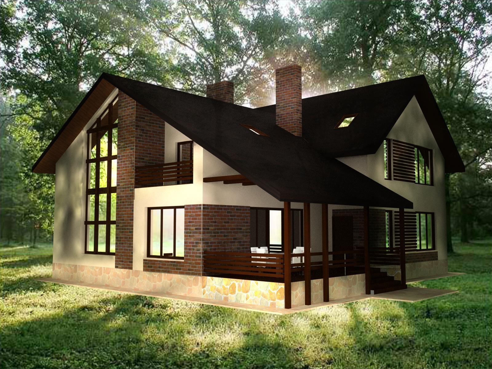 Дизайн внешнего вида дома фото