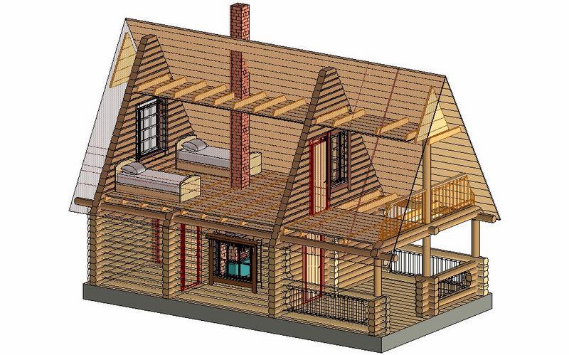 Проекты дачных домов своими руками