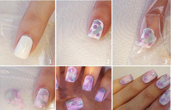 Дизайн ногтей в домашних условиях на коротких ногтях 129