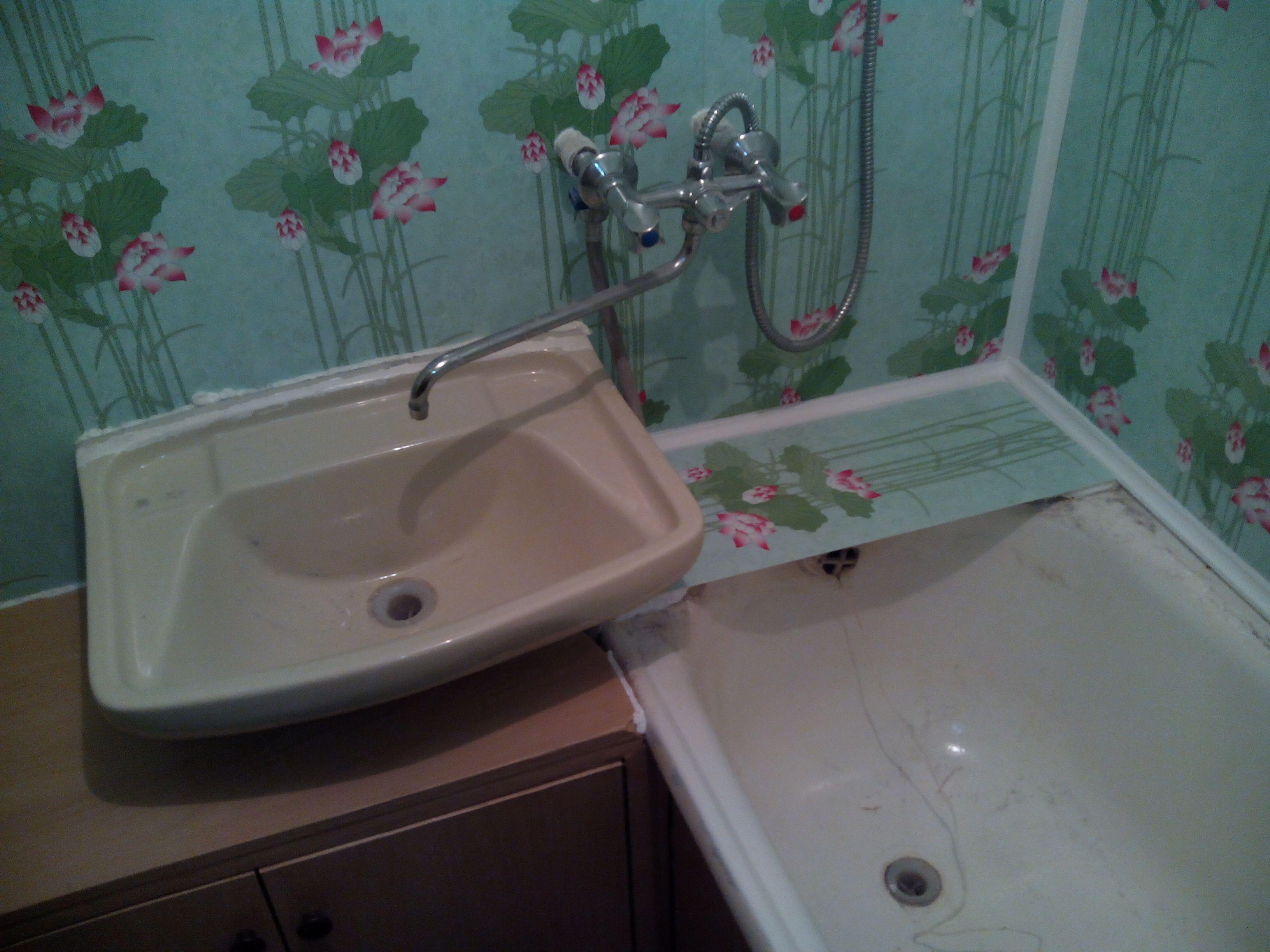 Ванная из панелей пвх своими руками