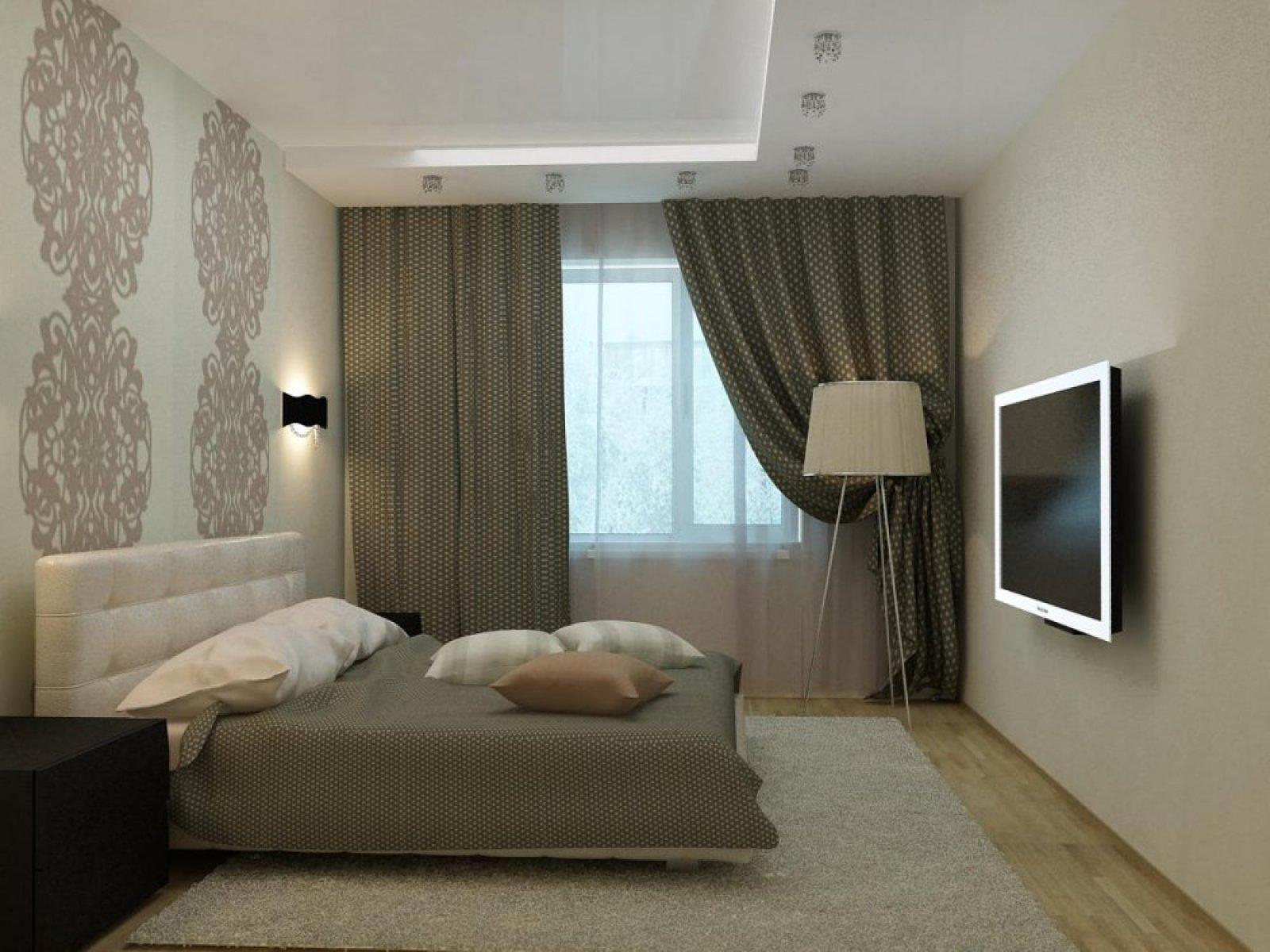 Спальная комната дизайн 12 кв.м