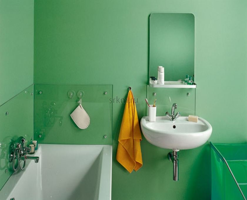 Ремонт дизайн стен в ванной