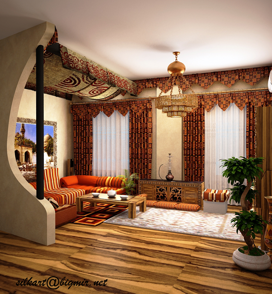 Дизайн в восточном стиле своими руками в квартире фото