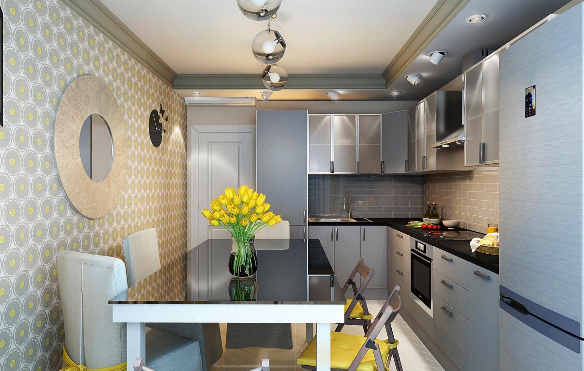 Кухня в 10 м2 дизайн