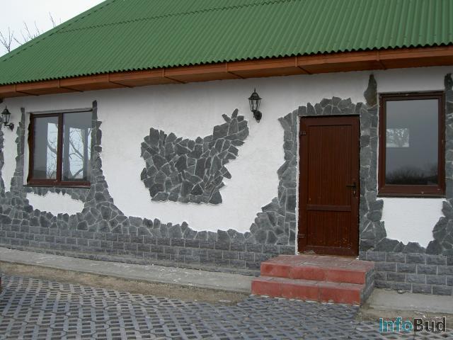 Фасад дома отделка своими руками