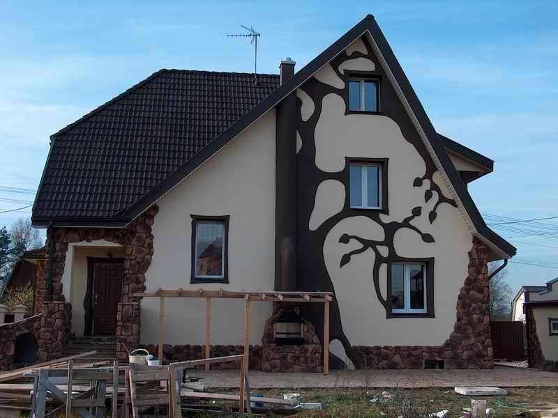 Декор фасада дома своими руками