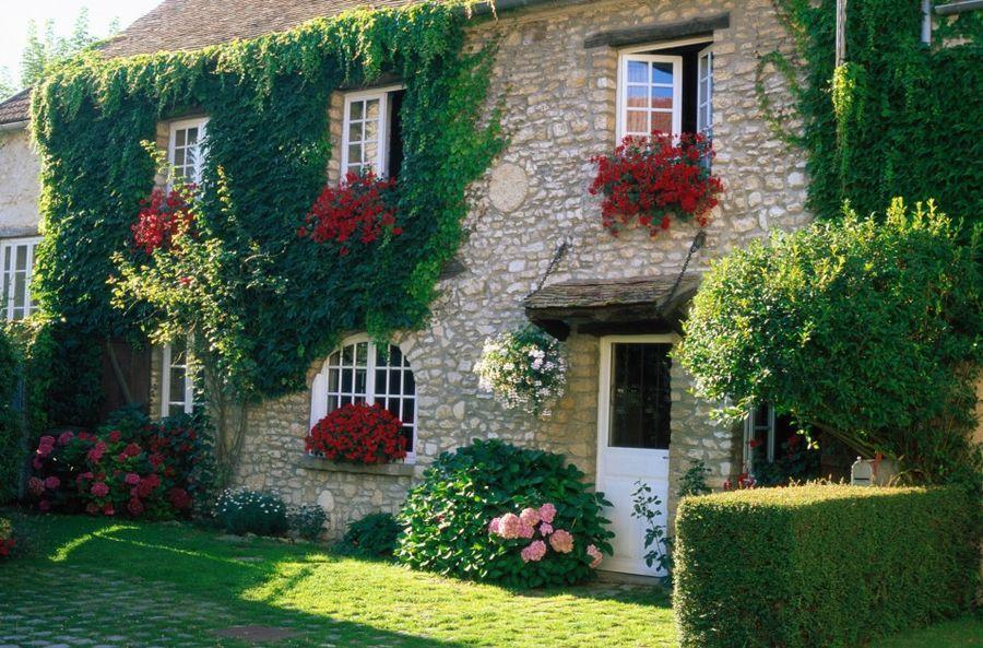 Украсить фасад дома фото