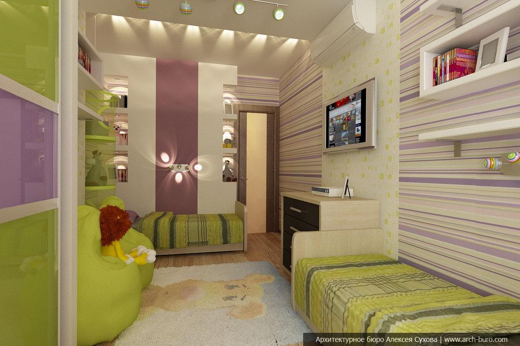 Дизайна комнаты для двух детей дизайн