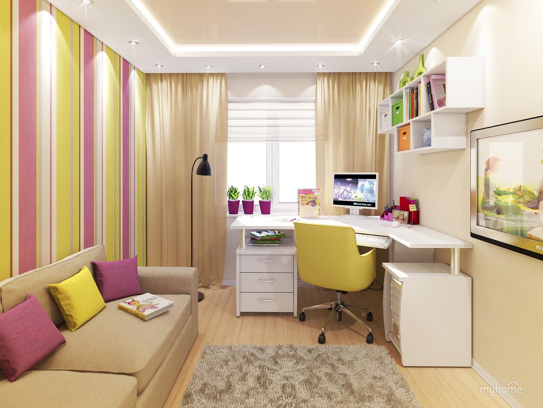 Дизайн спальни для школьников