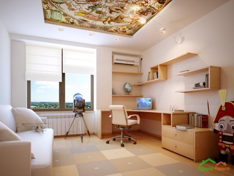 Интерьер комнаты школьника фото