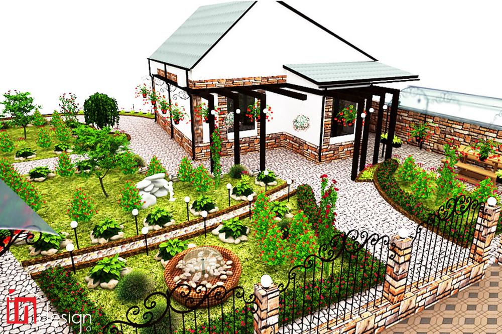 Ландшафтные дизайн проекты частных домов