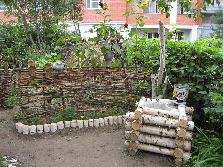 Благоустройство садового участка фото своими руками