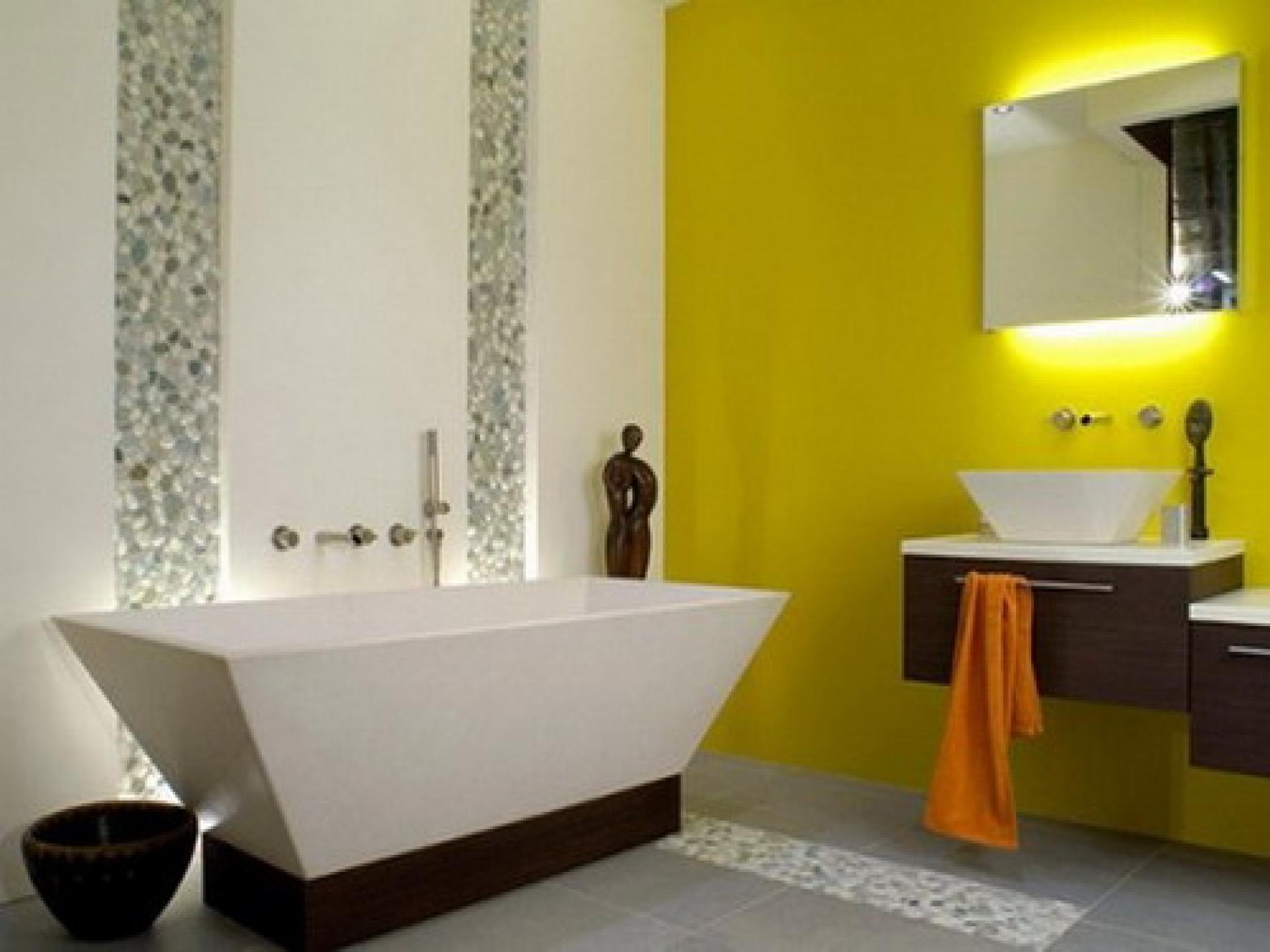 Модные расцветки ванной