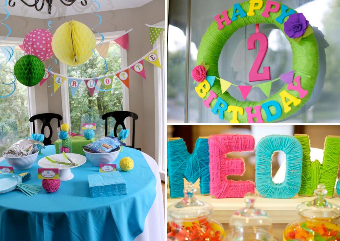 Украшение на день рождения мальчику