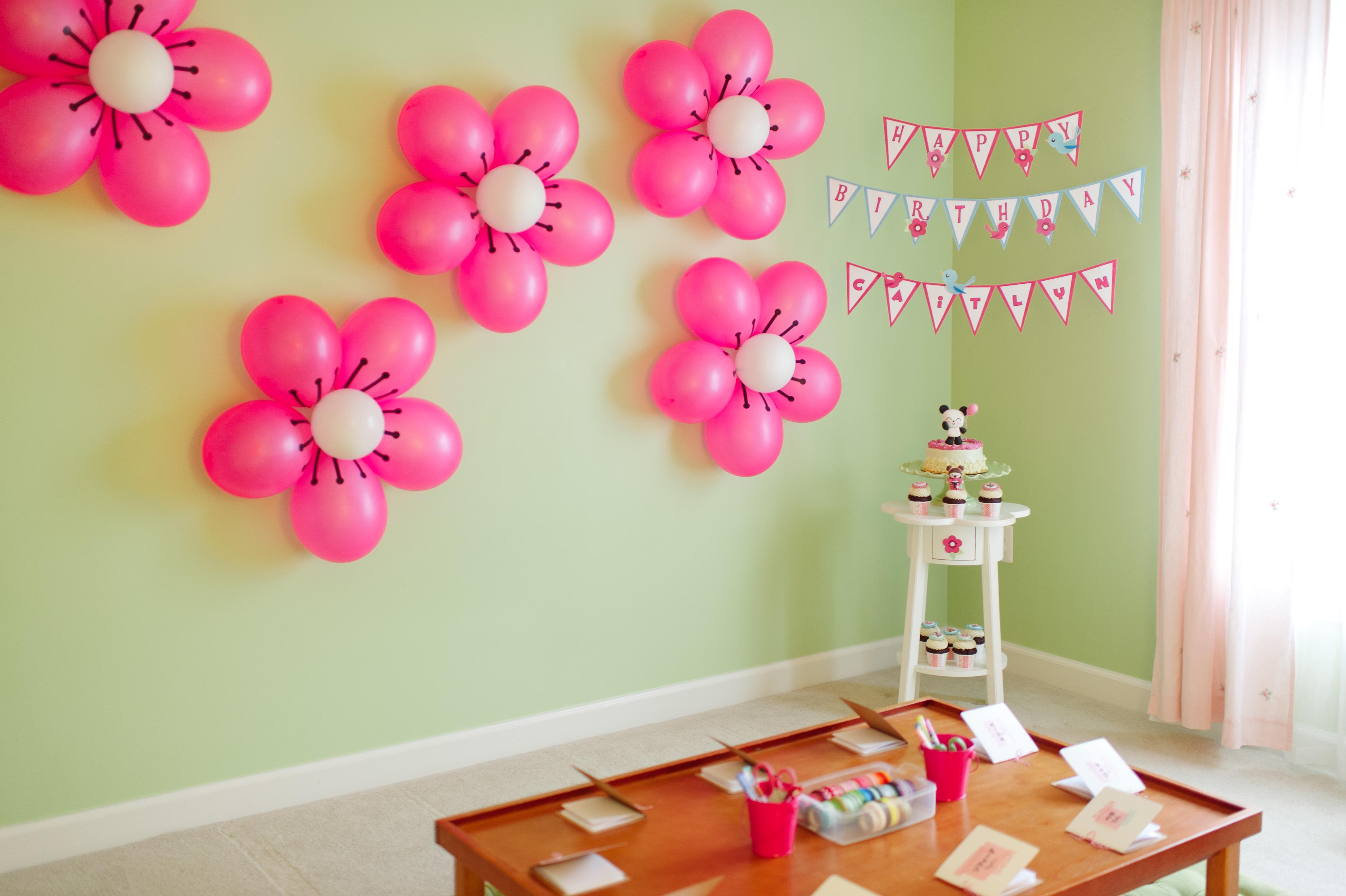 Как украсит дом своими руками ко дню рождения мамы