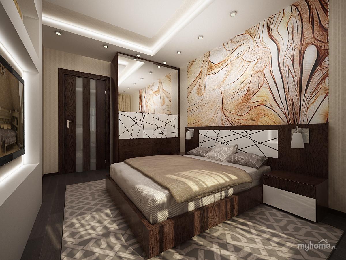 Интерьер спальни фото 9 кв метров