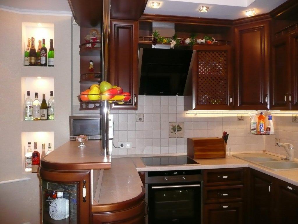 Интерьер кухни в домах п 44 фото