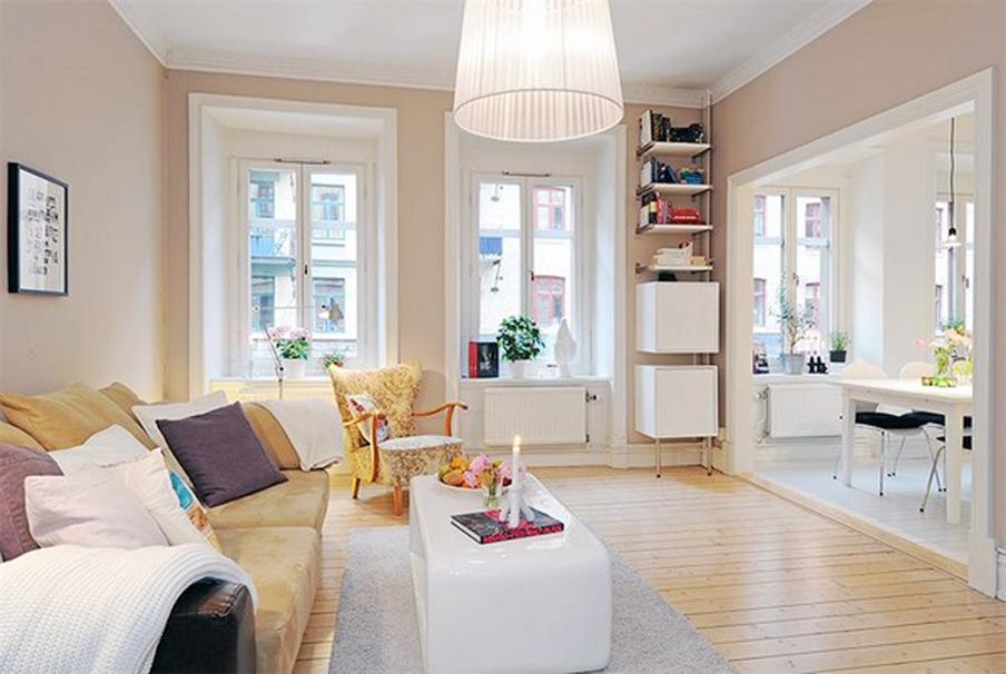 Европейский дизайн комнаты