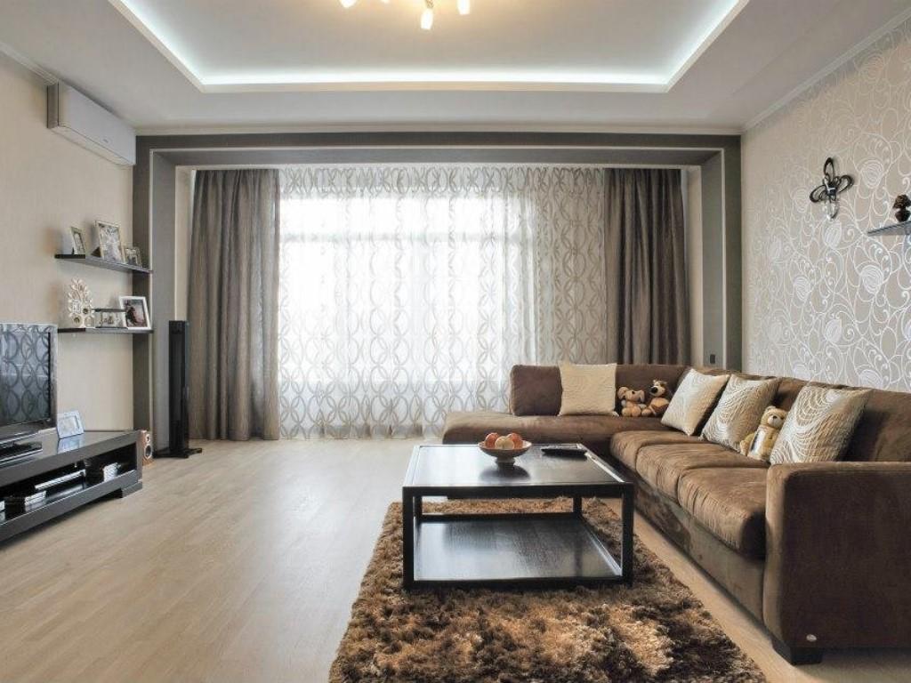Дизайн зала в квартире недорого
