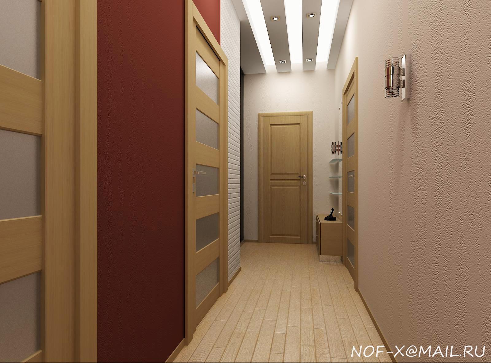 Дизайн коридора 5 квм