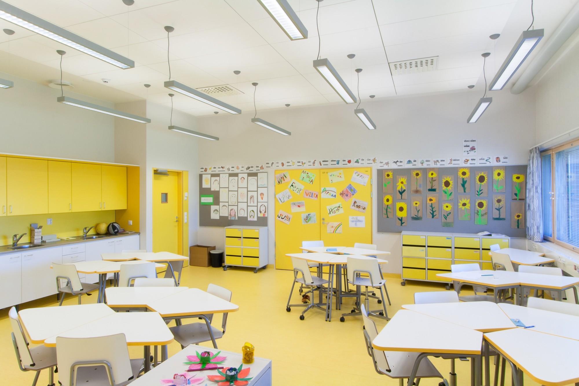 Дизайн начальной в школе