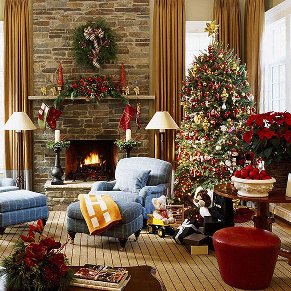 Украсить комнату к рождеству своими руками