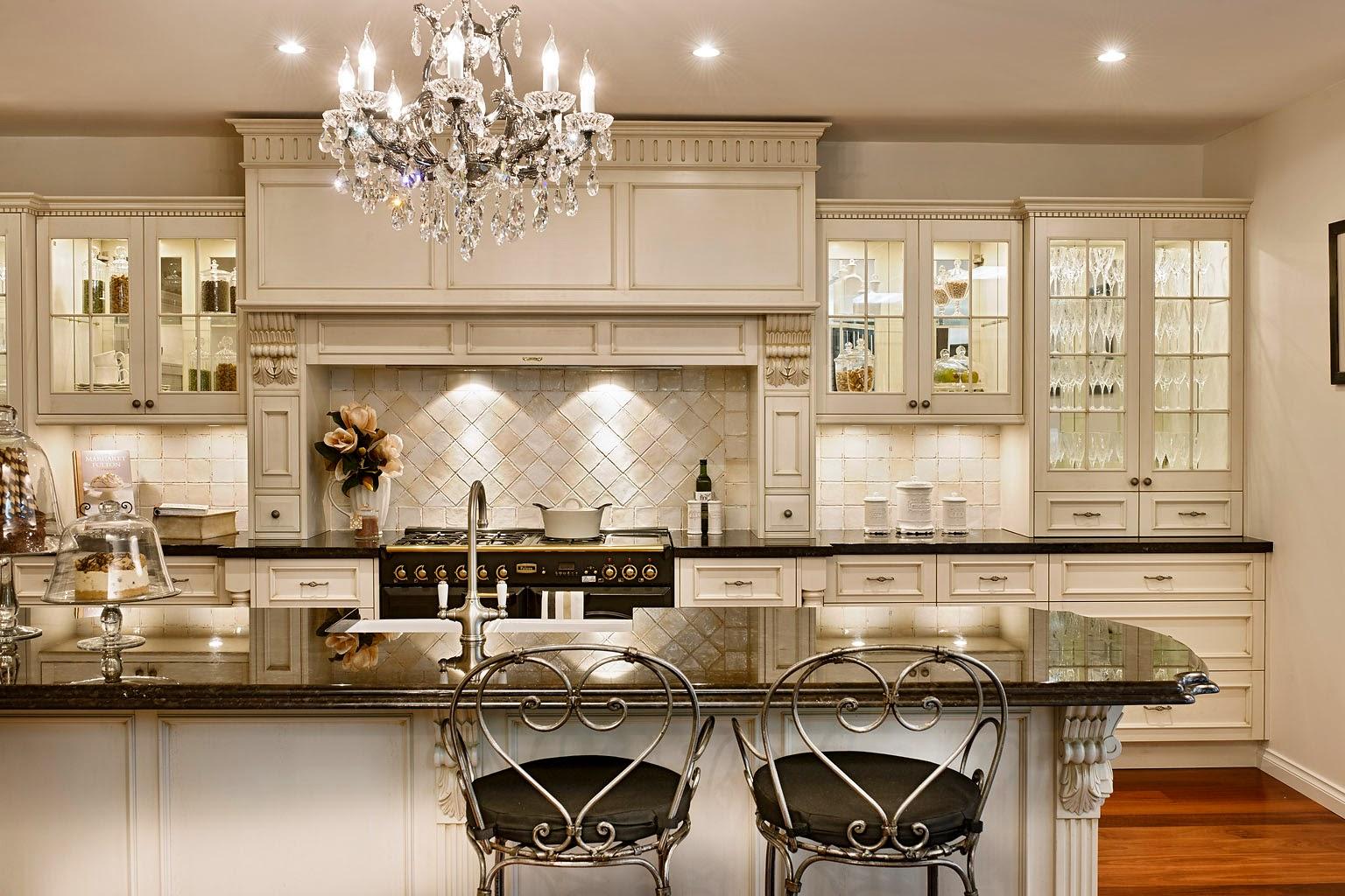Дизайн французских кухонь