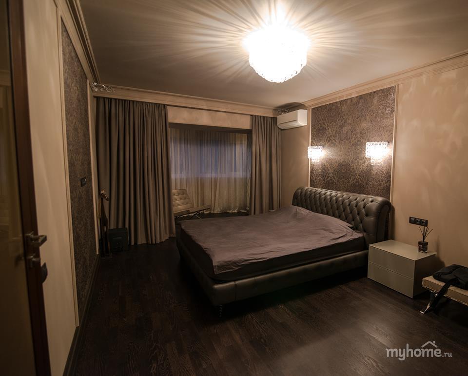 Интерьер комнаты в шоколадно бежевых тонах фото