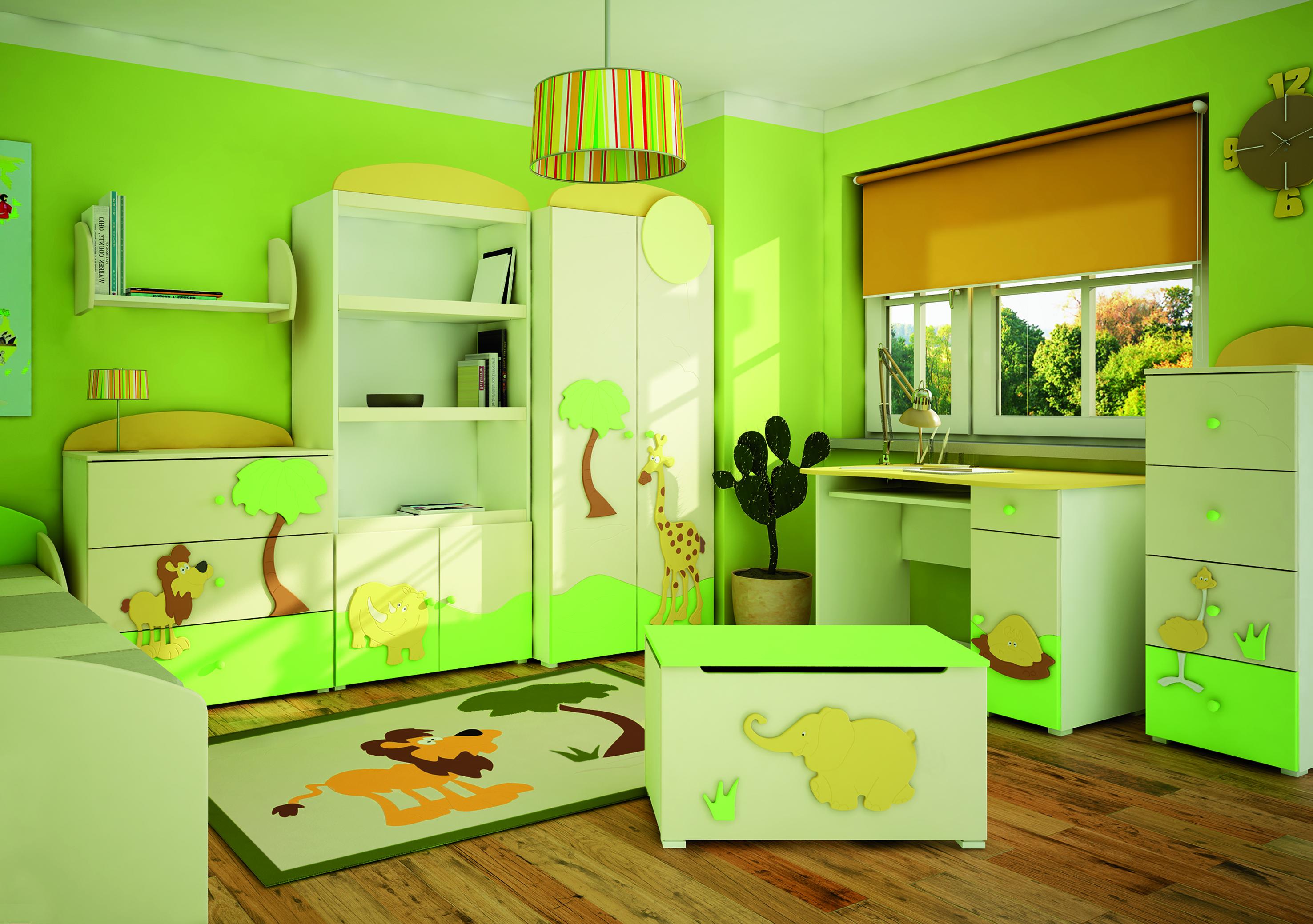 Мебель для детской интерьер фото