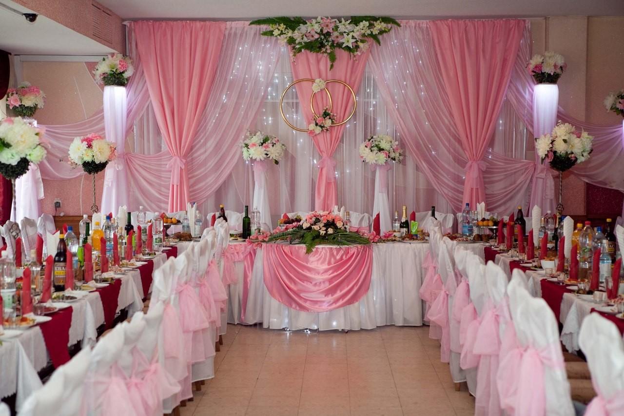 Украшение залов для свадеб своими руками