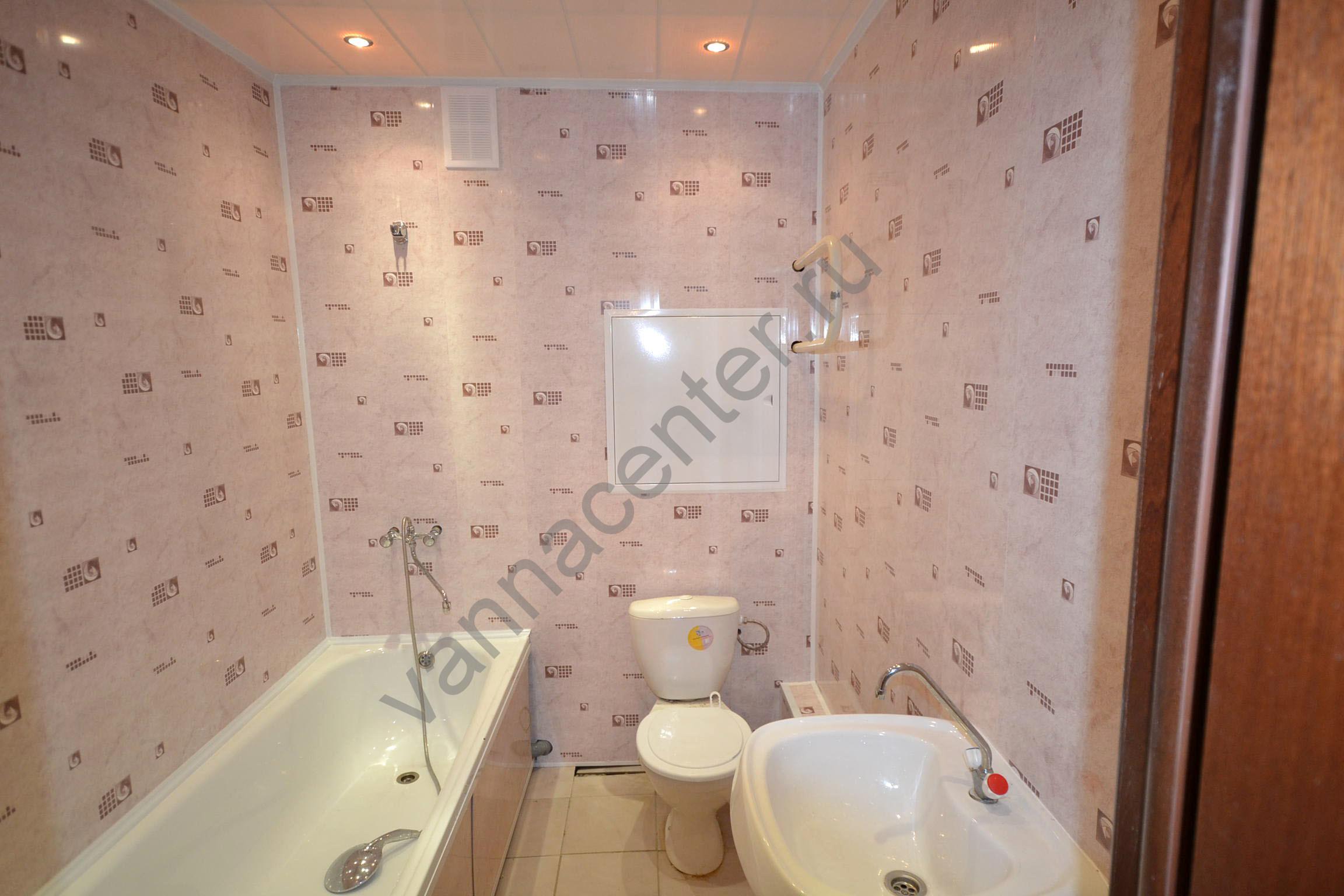 Отделка стен в ванной комнате панелями пвх своими руками 15