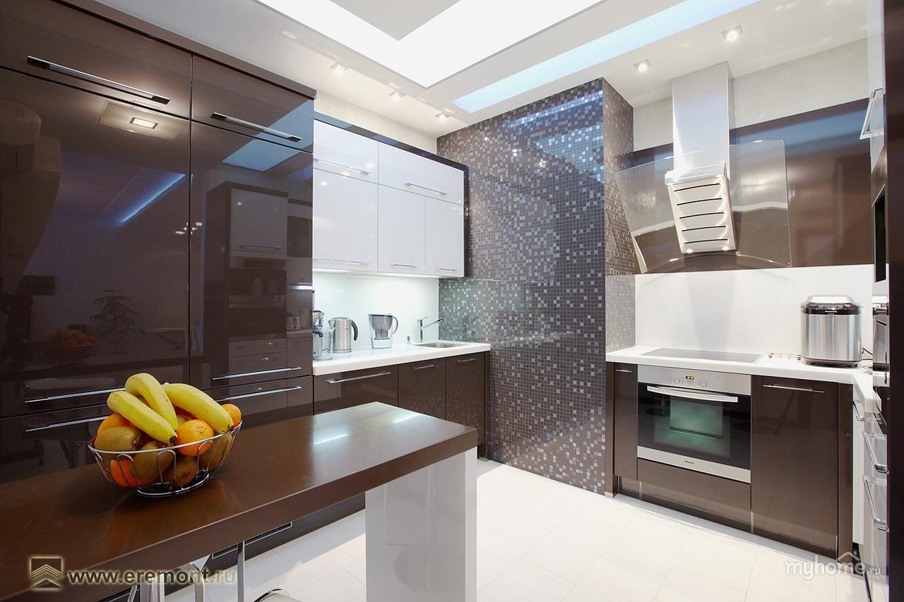 Кухня в квартире ремонт