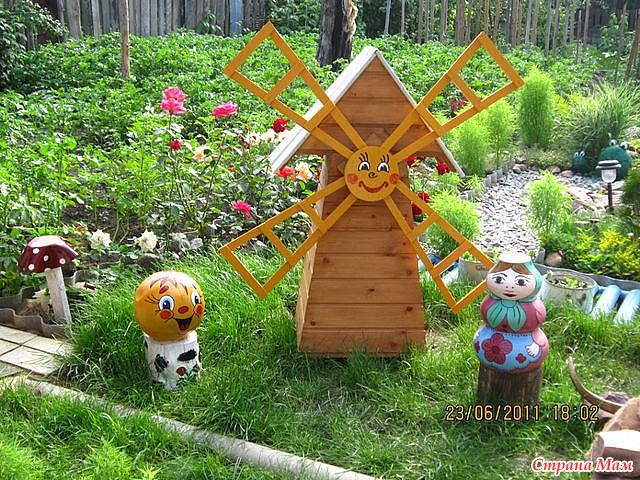 Садовый участок поделки своими руками