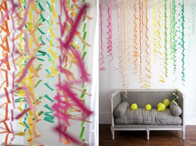 Как украсить комнату к новому году из бумаги