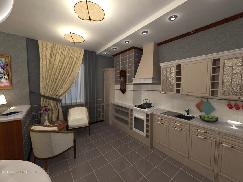 Дизайн кухни 2.5 на 2.5 метра