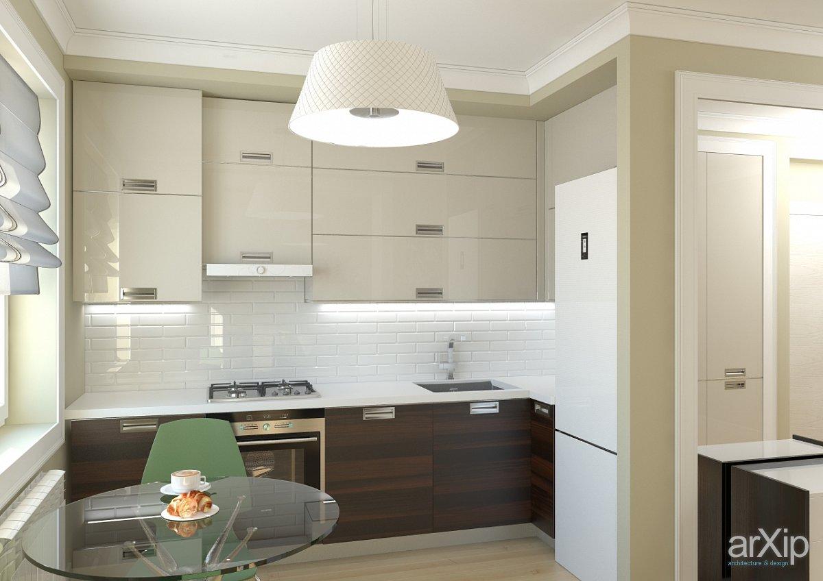 Дизайн маленькой кухни в стиле минимализма