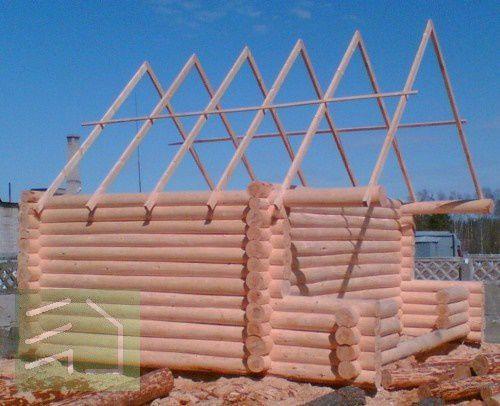 Как сделать крышу для бани