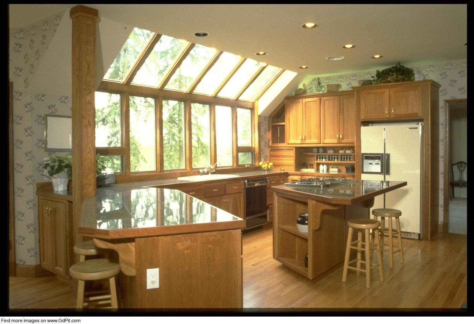 Интерьер и дизайн кухни в доме частном доме