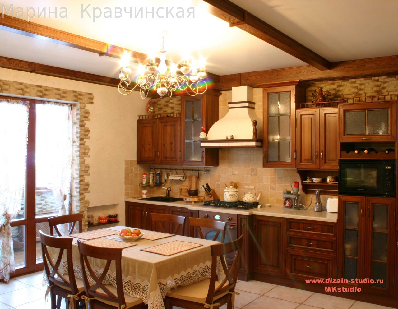 кухни для загородного дома фото