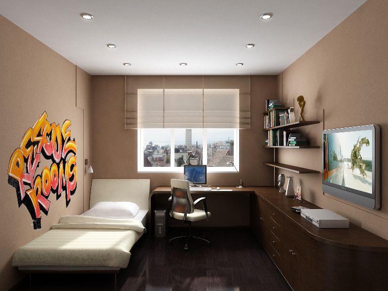 Дизайн для подростка комнаты