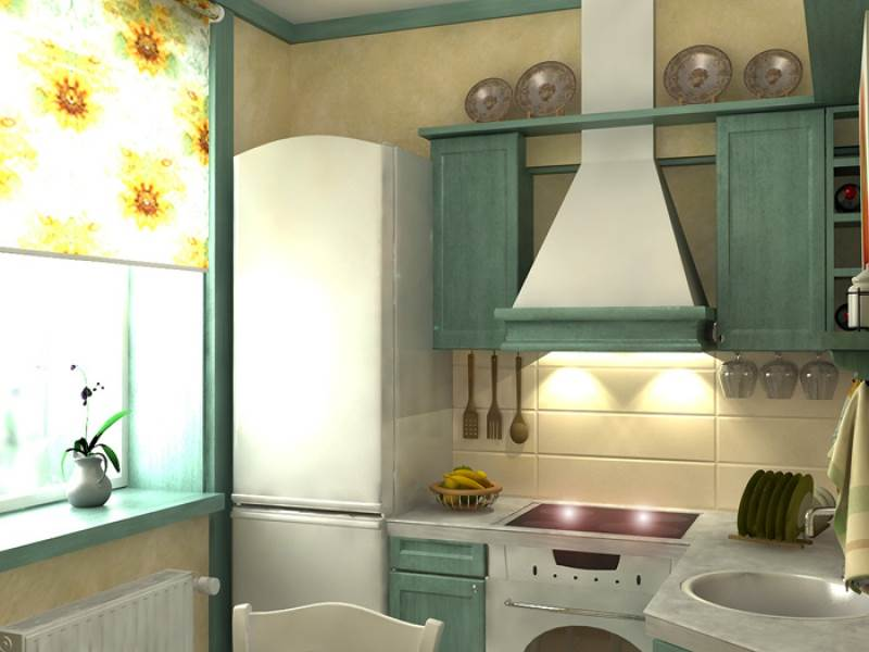 Дизайн малогабаритной кухни в квартире 2015 современные идеи