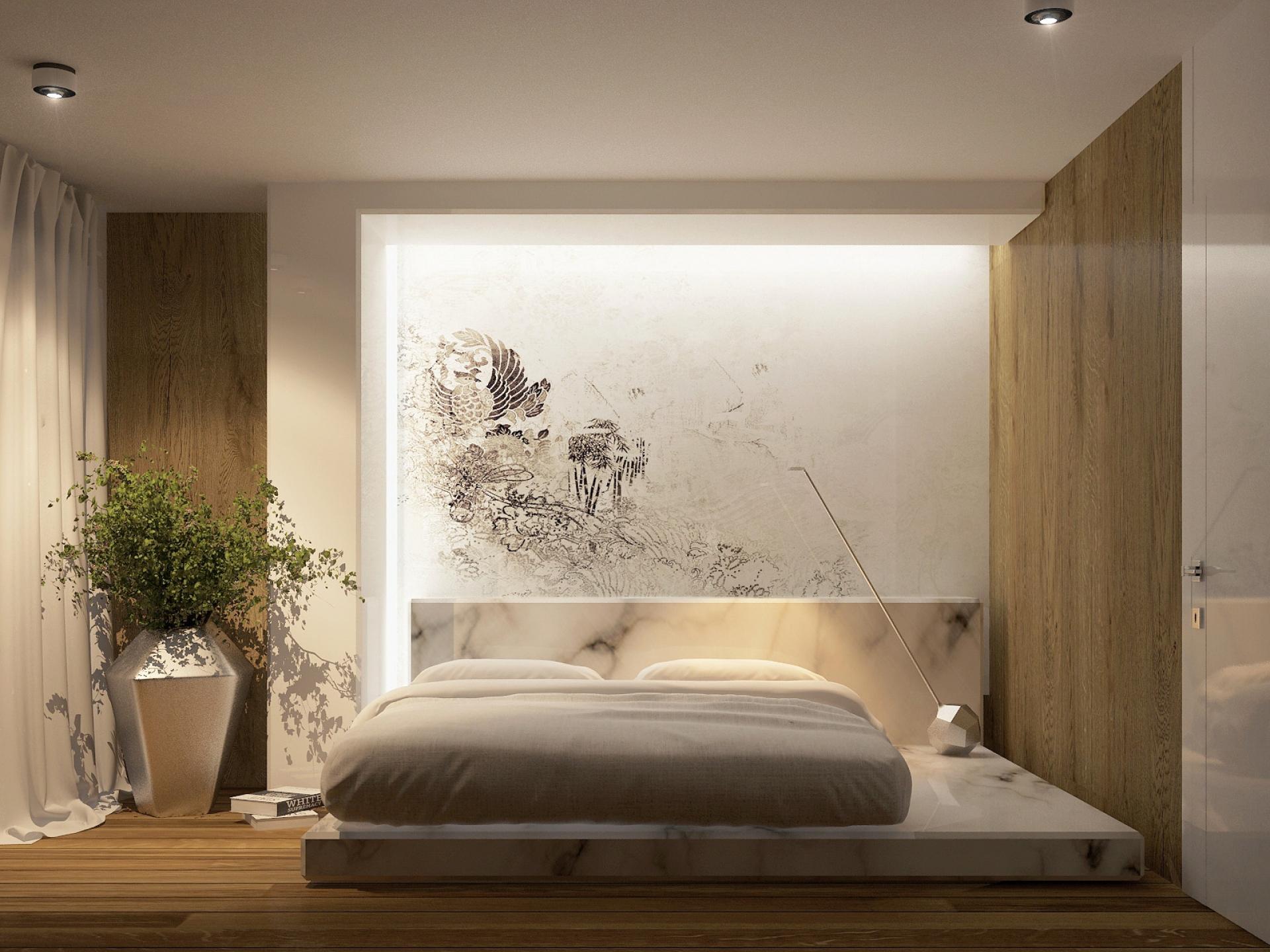 Идея интерьера спальни фото