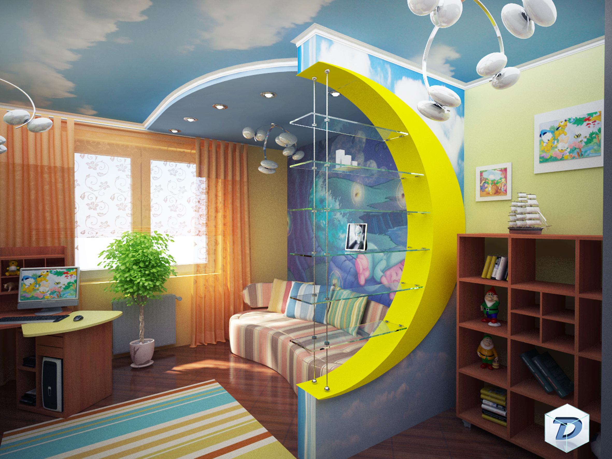Как правильно сделать детскую комнату