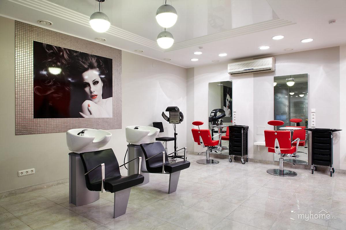 Дизайны интерьеры парикмахерской