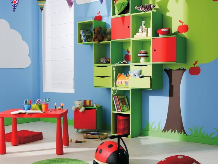 Дизайн детских игровых комнат