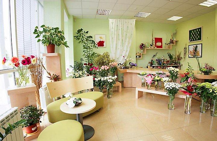 Квартиры оформленные цветами