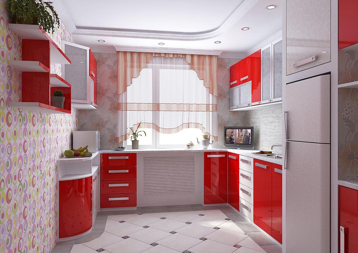 Дизайн кухни 9 кв м новинки 2016