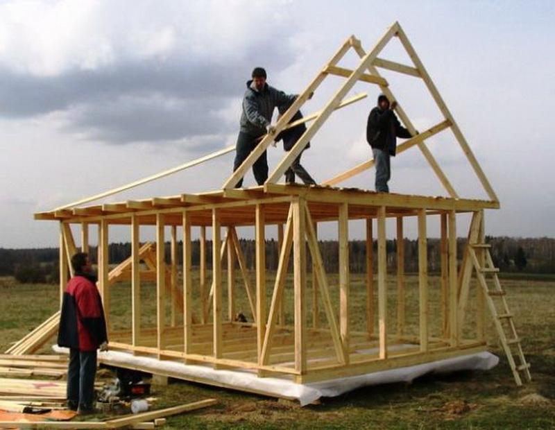 Как построить дом из дерева своими руками пошаговая инструкция с фото