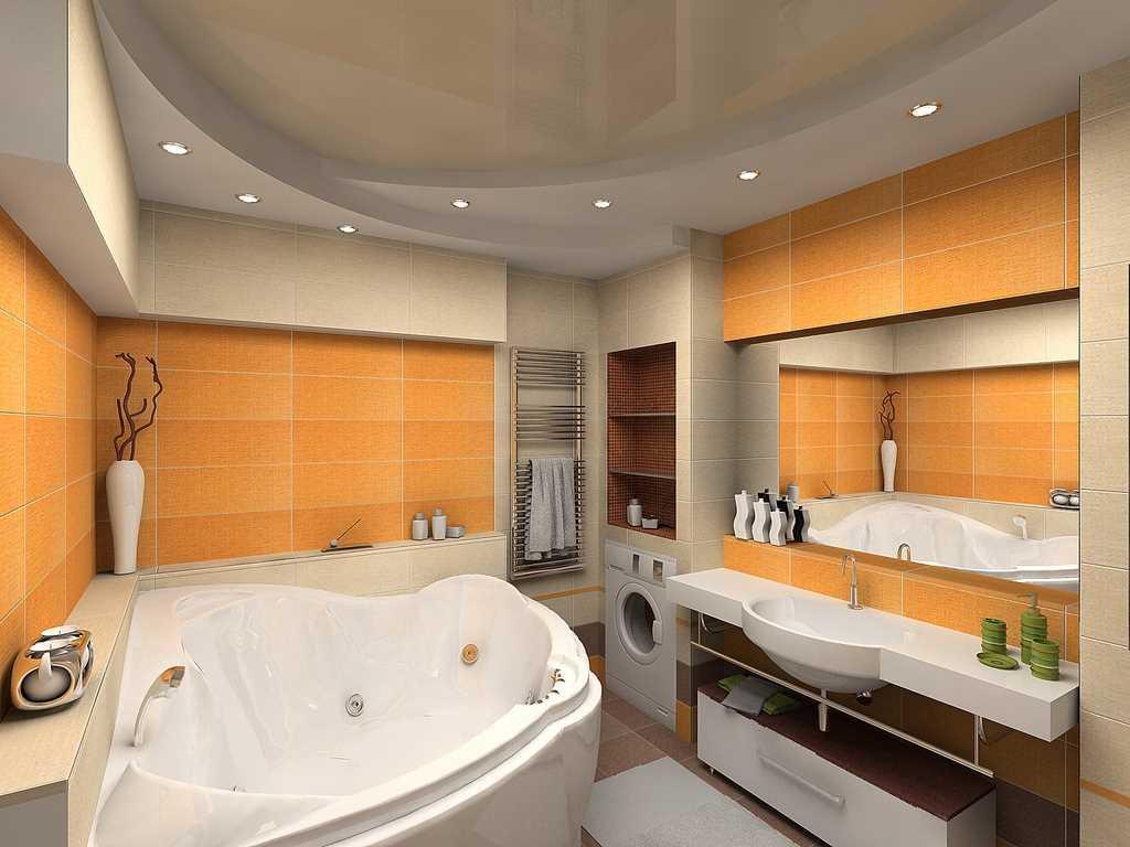 Дизайн ванной 6 квм