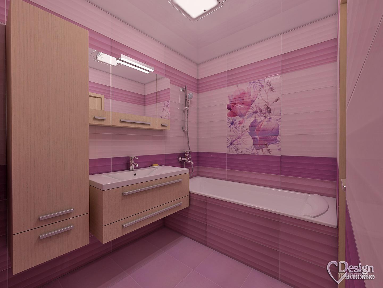 Мозаика в интерьере ванной комнаты фото